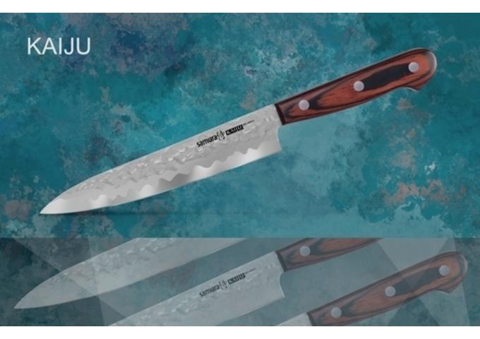 Универсальный нож SAMURA KAIJU SKJ-0023/Y,