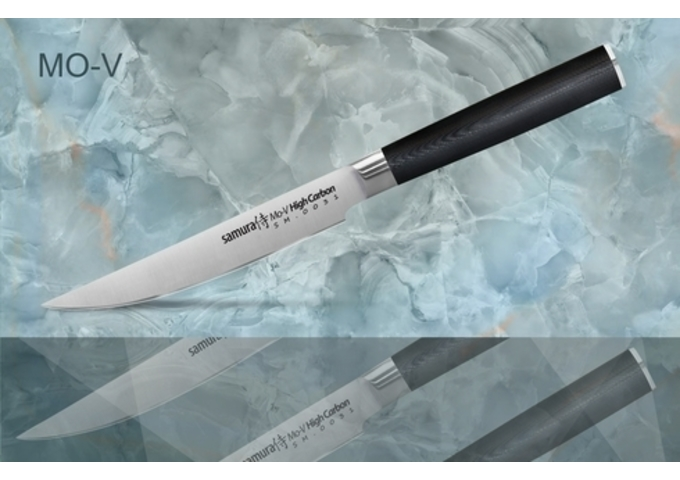 Нож для стейка Samura MO-V SM-0031/K,