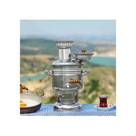 Самовар 2.5 литров жаровой на дровах, турецкий,