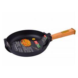 Сковорода чугунная с ручкой Оптима, 260х40мм,