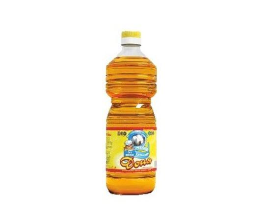 """Хлопковое масло """"Доня"""" 1 литр,"""