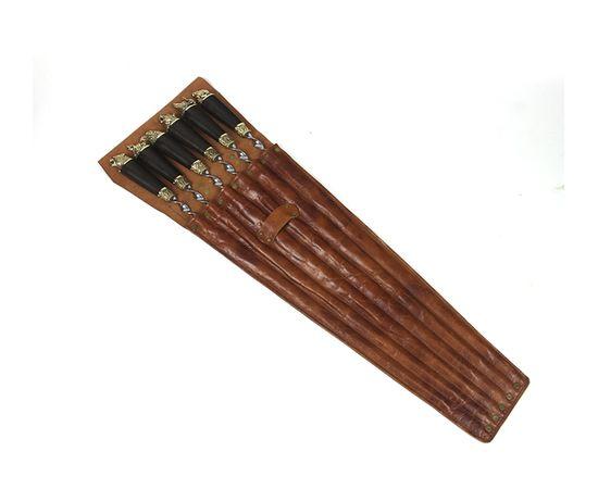 Набор для шашлыка Разные звери-7 (объемная рукоять),