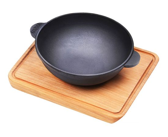 Сковорода ВОК с подставкой 180х63,