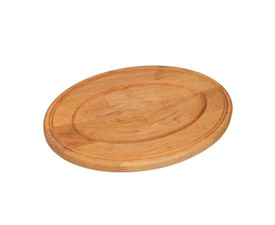 Сковорода овальная, чугунная с подставкой 220х140х25,